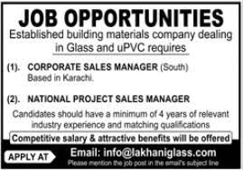 National Project Sales Manager