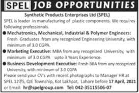 Synthetic Products Enterprises Limited - Lahore