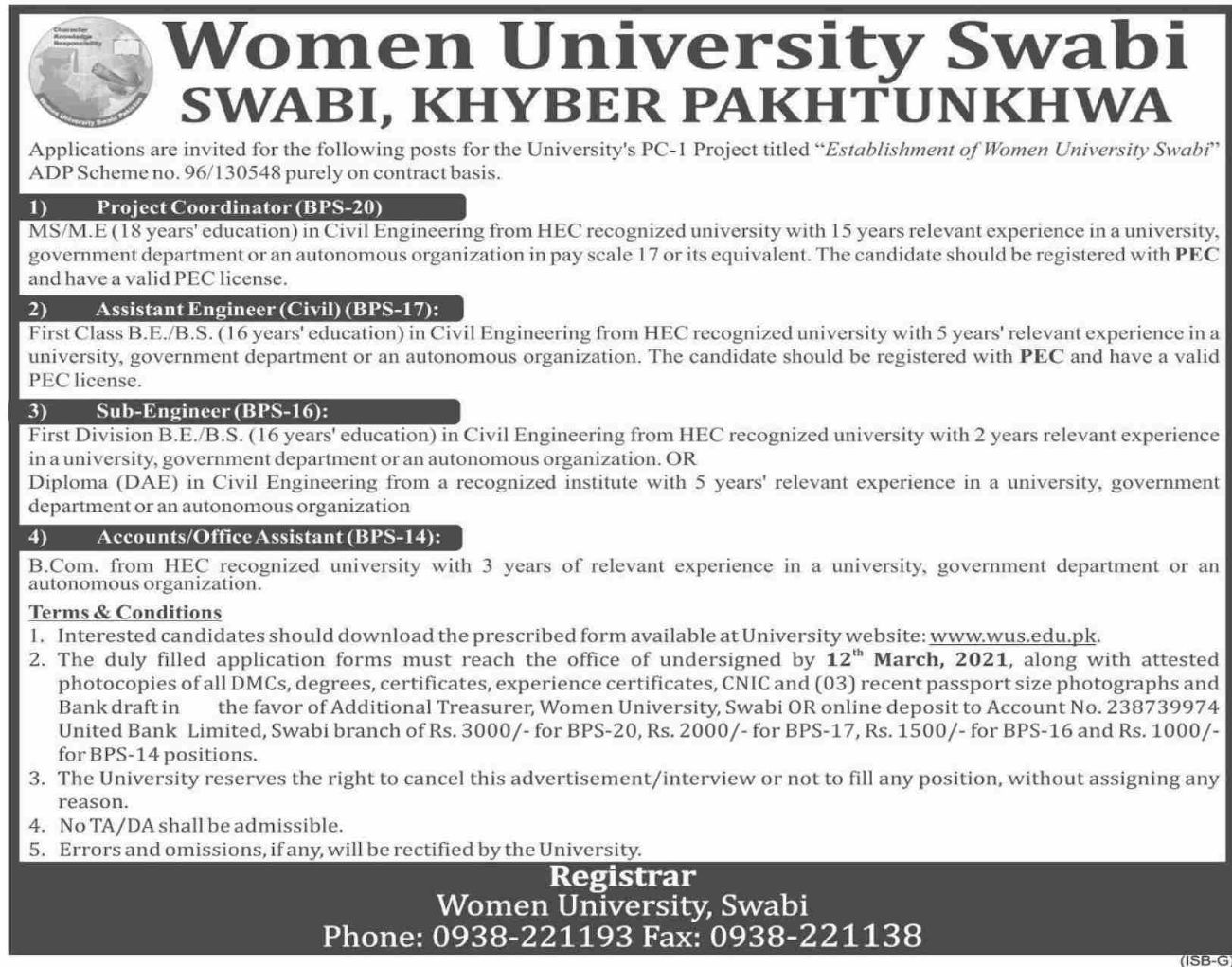 Women University - Swabi