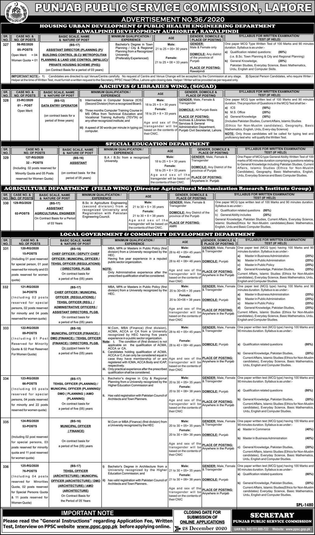 Govt of Punjab - Special Education Department