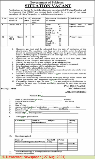 Smeda Government Of Pakistan Jobs in Islamabad