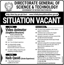 Directorate Of Science & Technology - Peshawar