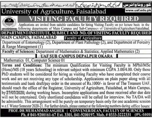 University Of Agriculture
